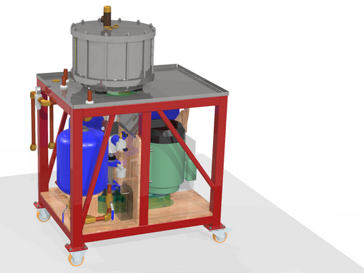 Orthotropic designs test rig for RheEnergise