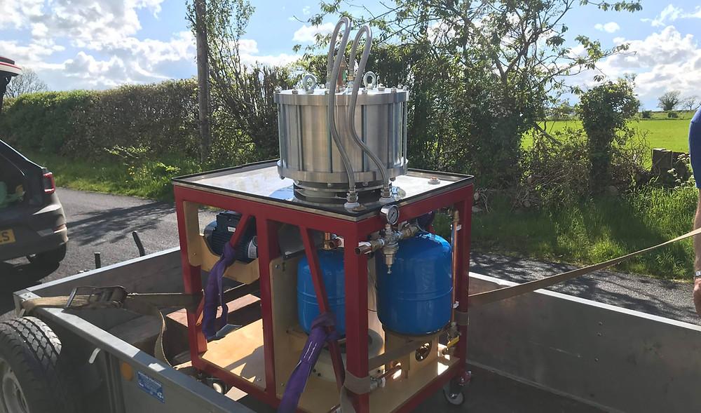 Test rig, energy storage, pumped hydro, rheenergise