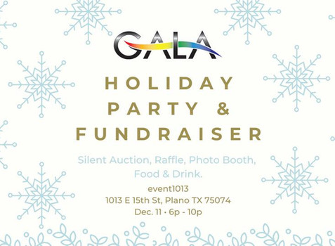 Join us on December 11. Celebrate Diversity in 2019 & Enhance Equality in 2020 for LGBTQ North Texas