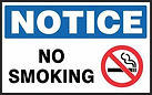 Notice Safety Signs - No Smoking