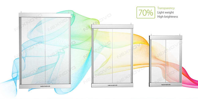 XT Transparent LED Glass Display