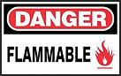 Danger Safety Sign - Flammable