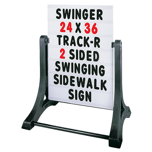 """Swinger® Message Board Sidewalk Sign - 32"""" x 42"""""""