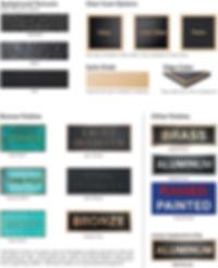 Cast Plaques - Cox Signs