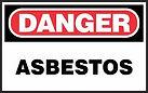 Danger Safety Signs - Asbestos