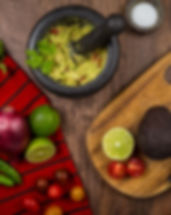 Preparing Guacamole