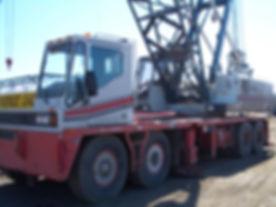 125 ton link belt crane
