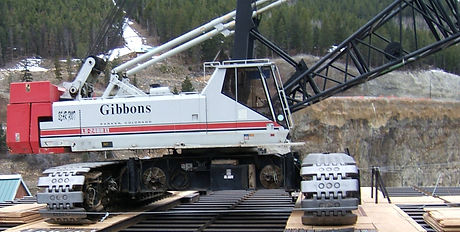 200 ton link belt crane