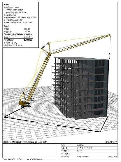 3d models crane kobelco
