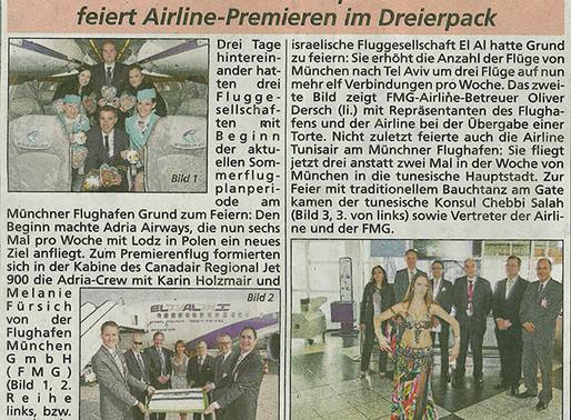 Bauchtanz am Münchner Flughafen