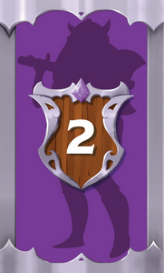 The Quest Kids - Fantasy Board Game for Kids - Skylar Hero Card 2
