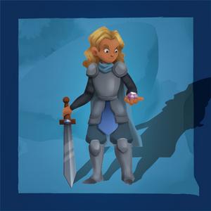 The Quest Kids - Noah Hero Token