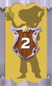 The Quest Kids - Fantasy Board Game for Kids - Crash Hero Card 2