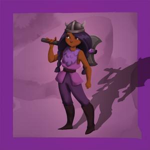 The Quest Kids - Skylar Hero Token