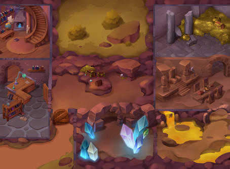 Tolk the Wise's Cave: Exploring the art of The Quest Kids