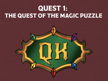Quest 1 Setup - The Trials of Tolk the Wise: Quest of the Magic Puzzle