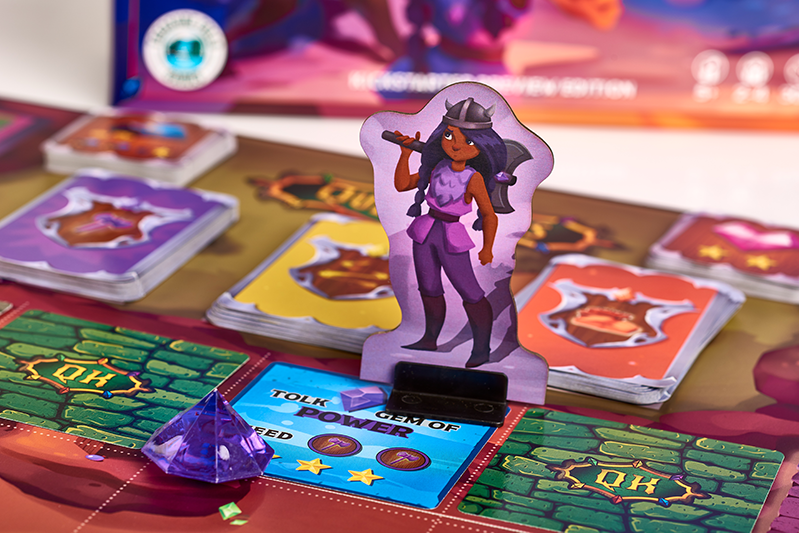 The Quest Kids - Fantasy Family Board Game - Skylar