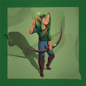 The Quest Kids - Ivy Hero Token