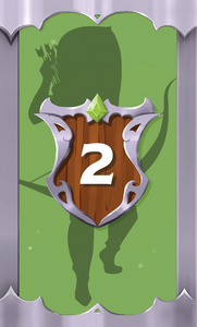 The Quest Kids - Fantasy Board Game for Kids - Ivy Hero Card 2