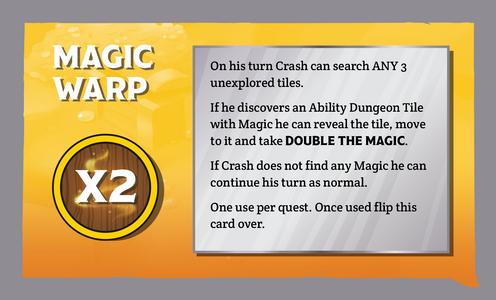 The Quest Kids - Fantasy Board Game for Kids - Magic Warp
