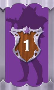 The Quest Kids - Fantasy Board Game for Kids - Skylar Hero Card 1