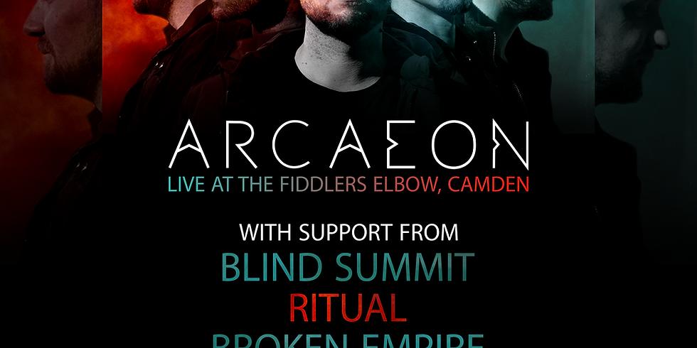 Broken Empire @ The Fiddlers Elbow, Camden