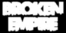 Official Logo for UK Hard Rock Band Broken Empire