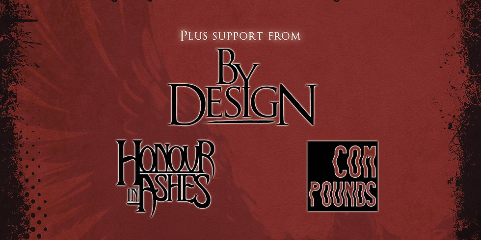JamCity Presents - Broken Empire   By Design   Honour In Ashes   Compounds