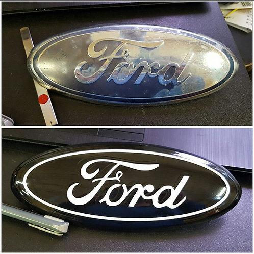 Truck front logos