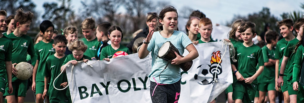 Bay Olympic Football Kids