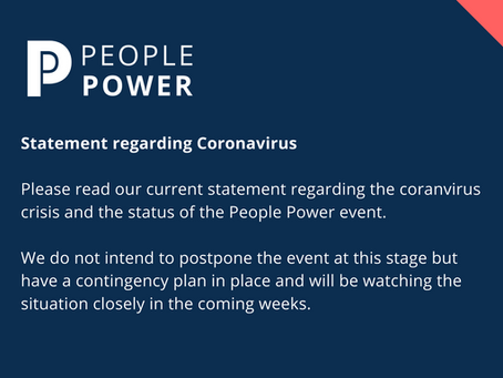 People Power Coronavirus Update