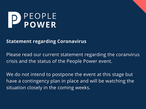 People Power Coronavirus Update