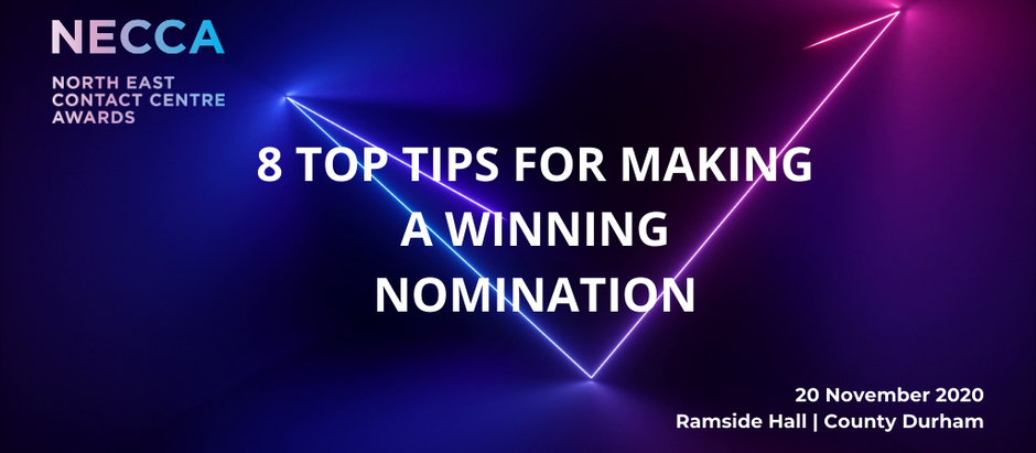 8 Top Tips for Making a Winning Nomination - Nicola Simpson