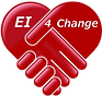 Ei4Change Transparent background - white