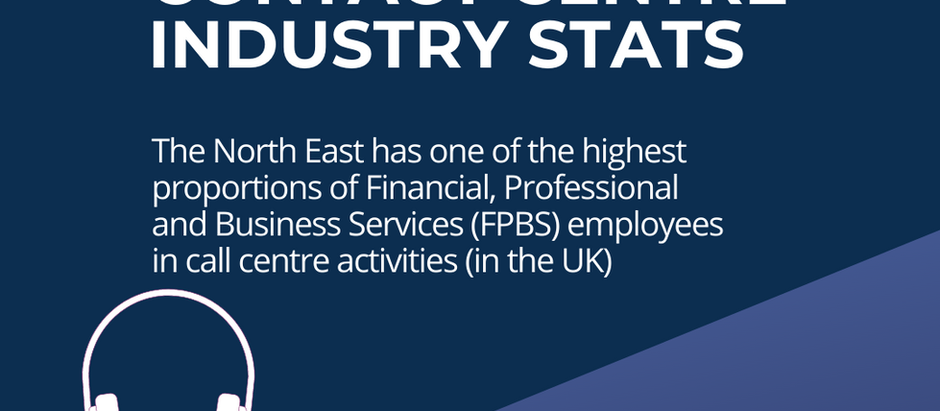INFOGRAPHIC: The North East Contact Centre Industry