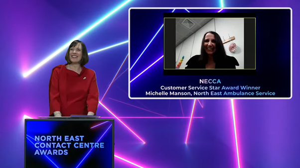 Meet the Stars: Michelle Manson of NEAS, Customer Service Star 2020