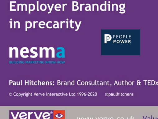 Webinar | Employer Branding in Precarity | Paul Hitchens
