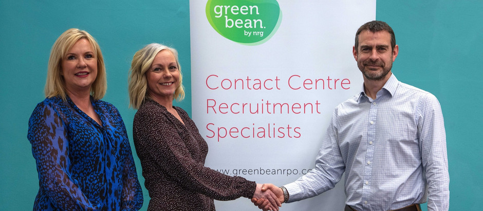 greenbean announced as headline sponsor for North East Contact Centre Awards 2020