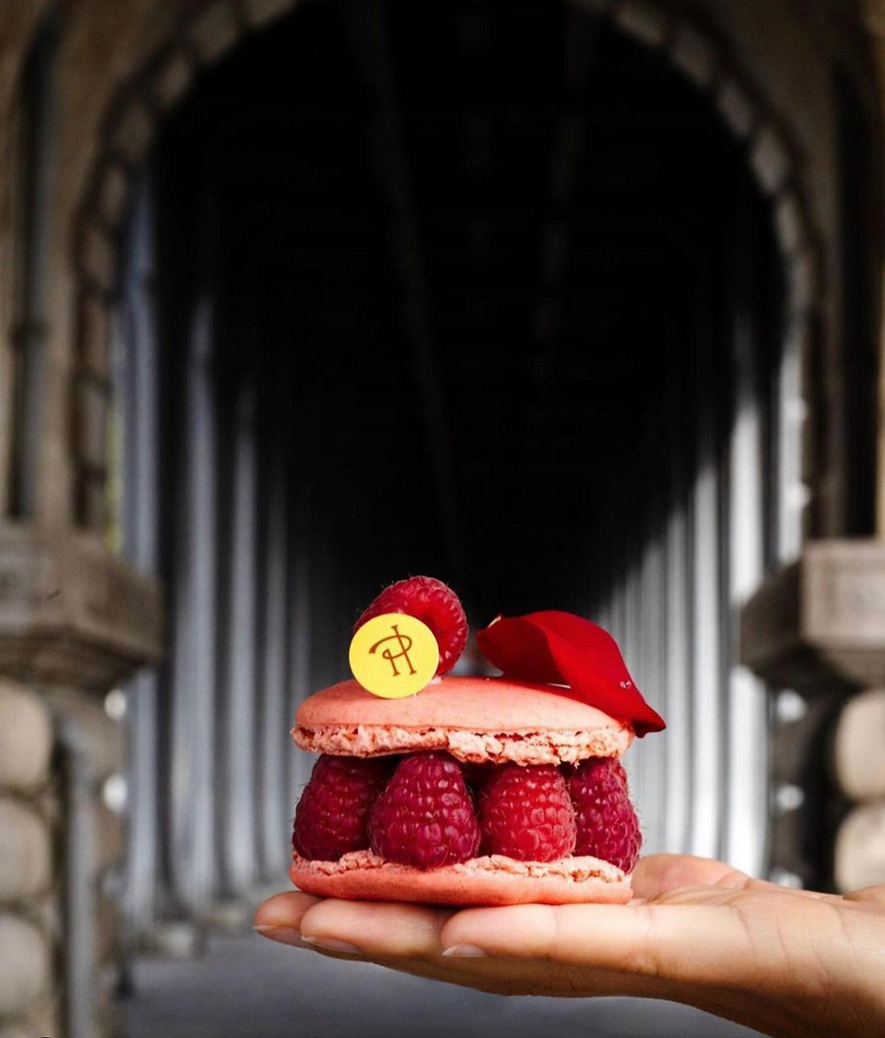 The Ispahan, signature pastry by Pierre Hermé