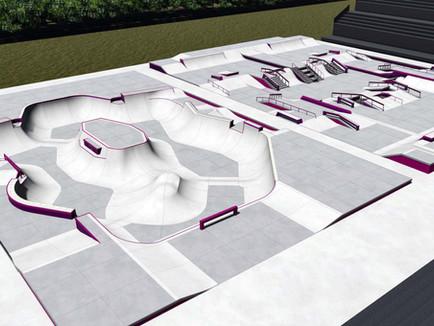 Skatepark-Design für Tokio veröffentlicht