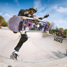 Erfolgreiche Olympiaqualifikation im Skateboarding