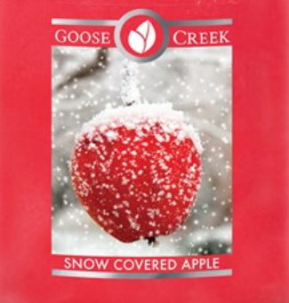 Snow Covered Apple Goose Creek Wax Crumble Pot 22g