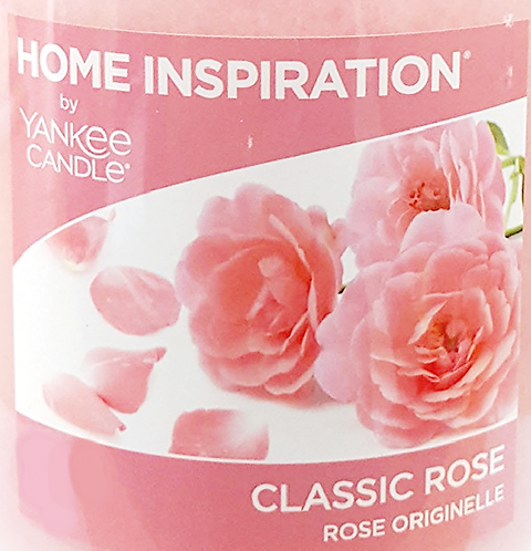 Classic Rose Yankee Candle Wax Crumble Pot