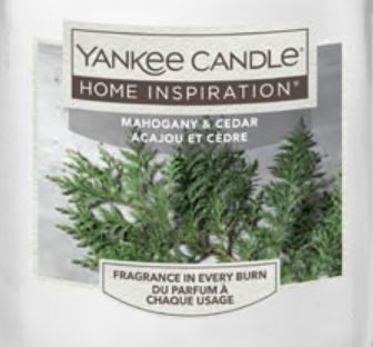 Mahogany and Cedar Yankee Candle Wax Crumble Pot