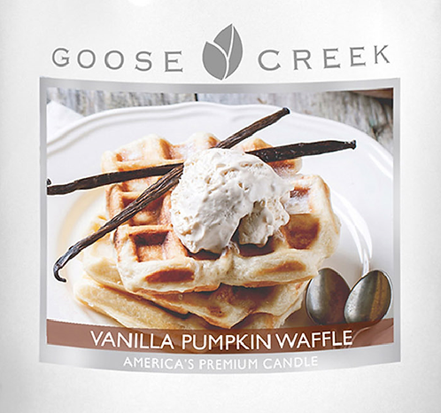 Vanilla Pumpkin Waffle Goose Creek Wax Crumble Pot