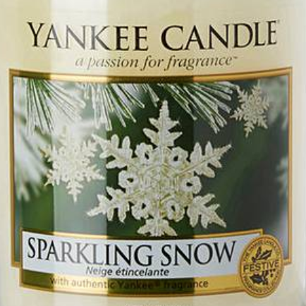 Sparkling Snow USA Yankee Candle Wax Crumble Pot 22g