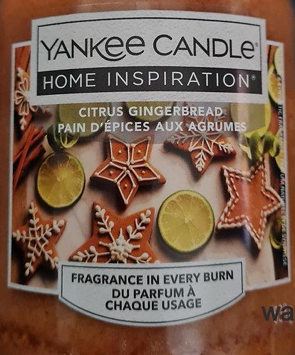 Citrus Gingerbread Yankee Candle Wax Crumble Pot