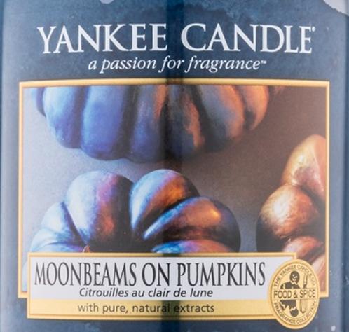Moonbeams On Pumpkins USA Yankee Candle Wax Crumble Pot