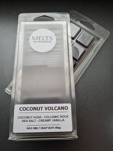 Coconut Volcano Wax Melt Snap Bar by Wax Addicts
