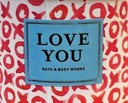 Love You USA Bath and Body Works Wax Crumble Pot 22g